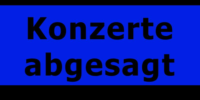 Absage Frühlingskonzerte 2020